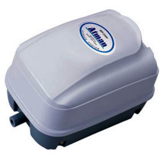 HP-4000 Atman quiet Oxygen aquarium pond air pump