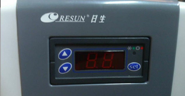 Resun CL200 Aquarium Chiller Control Panel